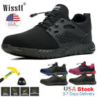 Mens Work Safety Shoes Steel Toe Boots Indestructible Outdoor Breathable Hiking