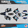 Yamaha YZ250 YZ125 Graphics Decal Kit  2002 to 2014 YZ 250  DIVISION-CyanDrkBlue