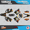 Yamaha YZ250 YZ125 Graphics Decal Kit  2002 to 2014 YZ 250  DIVISION-YellowOrng