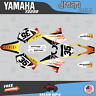 Yamaha YZ250 YZ125 Graphics Decal Kit 2002 to 2014 YZ 250 DREAM Series- Yelo Red