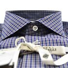 NEW LUIGI BORRELLI SHIRT 100 COTTON 19BS28