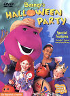 Barney: Halloween Party,DVD, trick or treat children kids games educational D2