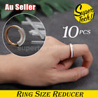10x Ring Size Adjuster Reducer Spiral Invisible Guard Resizer Jewellery Tools Au