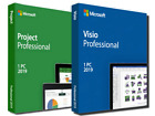 Microsoft Visio & Project 2019 Pro (32/64 Bit) License Key For 1 PC - LIFETIME