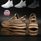 Men's Outdoor Running Shoes Casual Athletic Jogging Sports Tennis Sneakers Gym