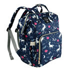 LEQUEEN Unicorn Mummy Baby Diaper Bag Maternity Nappy Backpack Large Waterproof