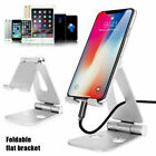 Foldable Aluminum Desk Stand Adjustable Holder For Tablet Mobile Phone 4-13inch