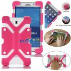 "For 7"" 8"" 9"" 10"" 10.1"" Kids Tablet Shockproof Universal Silicone Gel Case Cover"