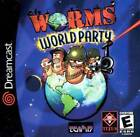 Worms World Party Sega Dreamcast Game