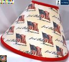 AMERICAN PATRIOTIC GOD BLESS AMERICA LAMP SHADE (Clip-On) -  $65.95 - LAST ONE!