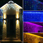 13ft~130ft Christmas Snowing Icicle Indoor Outdoor LED Fairy Lights with 8 Modes