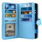 For Microsoft Nokia Lumia 650 Flip Wallet Card Holder TPU Silicone Case Cover