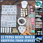 Up 277pcs Silicone Pendant Mold Necklace Jewelry Resin Mould Epoxy Casting Craft