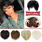 Women Topper Hairpiece As Human Toupee Bangs Hair Extensions for Thin Hair Piece