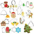 Claus Xmas Theme Christmas Cookie Cutter Baking Tool Biscuit Mold Cake Mould