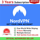 3Years NORD VPN Premium Private Account Best VPN 2020 Official Authorized Seller