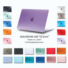 """2020 Apple Macbook Air 13"""" A2337 Protective Hard Case + Keyboard Cover Latest"""