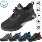 Indestructible Safety Work Shoes Steel Toe Breathable Work Boots Mens' Sneakers