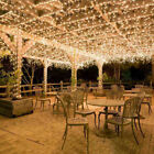 US 100~1000LED String Fairy Lights Home Twinkle Decor For Party Christmas Garden