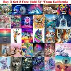 5D Diamond Painting Embroidery Cross Craft Stitch Art Kit Cartoon Animal Home
