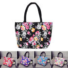 Fashional Floral Borse da donna Canvas Casual Tote Bag Shopping Bag Lunch Ba WP2