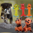 Pet Dog Rubber Squeaky Toys Monkey/Hippo/Dog Chew Toy for Cat Puppy Gift