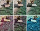 Saree Indian Designer Wedding Bridal Fancy Sequence Work Sari with Two Blouse BF