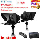TYST TY-320 Pro 14 inch phone ipad Teleprompter For DSLR Camera Live Streaming
