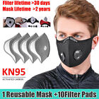 Sport Face Mask Reusable Braething Valve With Activated Carbon Filter Protect Us