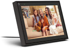 """Facebook Portal - Smart Video Calling 10"""" Touch Screen Display With Alexa - Bl"""