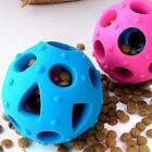 Pet Double Hollowed Food Leakage Ball Bite Resistant Cat Food Feeder Molar Ball