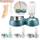 Dispenser Pet Supplies Cat Ears Shaped Pet Feeder Cats Bowl Protect The Spine