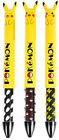Pokemon Pikachu 2-Color Ears Ball Point Pen Red & Black Ink