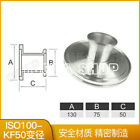 Vacuum reducer ISO change to KF transition flange ISO100 80 63X50X40X25X16