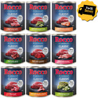 Rocco Classic Wet Dog Food All Flavours Meat Grain Free 24 x 800g Cans