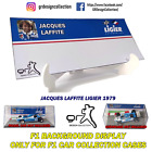F1 Car Collection INLAY DISPLAY Showcase JACQUES LAFFITE PACK / 1:43
