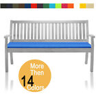 Bench Cushion 4 Seater Outdoor Garden Patio Furniture Pads Waterproof 6cm Thick