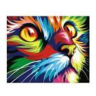 Cat Digital Oil Painting By Numbers Canvas Wall Picture DIY Hand Painted Decor