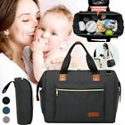 Large Mummy Backpack Maternity Baby Nappy Diaper Overnight Shoulde