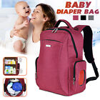 Mummy Nursing Backpack Baby Diaper Bag Nappy Travel Changing Bag Handbag
