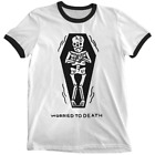 'Worried to Death' Ringer Shirt