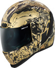 Icon Airform Guardian Full Face Motorcycle Helmet GOLD