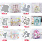 Cards Frame Words Metal Cutting Dies for Diy Scrapbooking Paper Cards Crafts
