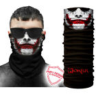 Joker Face Mask Fishing Cycling Cool Neck Gaiter Clown Balaclava Bandana Scarf