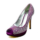 Satin+peep+toe+sparkly+detail+high+heel+court+shoes