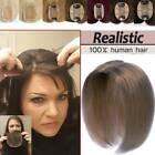 Hair Loss Deman Toupet Clip In Remy Hair Topper Echthaar Haarteile Toupee Pony