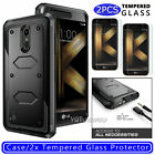 For LG K20 Plus/K20 V/K10 2017/Harmony/Grace LTE Hard Case Cover +Tempered Glass