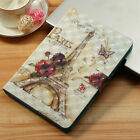 For Amazon Kindle Fire HD 7 8 10 ALL 2015-2019 PU Leather FLIP CASE/Cover Stand