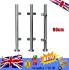90cm Railing Post Stainless-Steel Glass Clamp Post Glass Panels Deck Railing