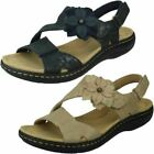 """Ladies Clarks Slingback Sandals With Flower Detail """"Laurieann Bea"""""""